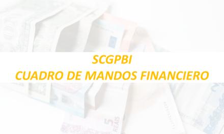 SCGPBI – Cuadro de mandos financiero