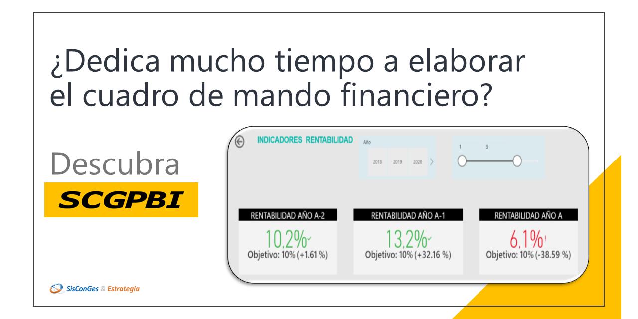 CUADRO DE MANDOS FINANCIEROS